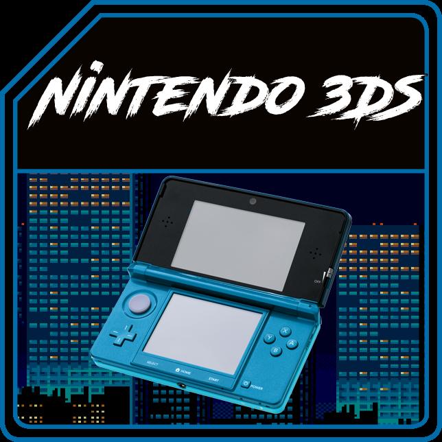 NINTENDO 3DS (PAL/JAP/US)