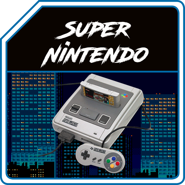 SUPER NINTENDO (PAL/JAP/US)